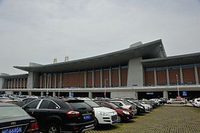 Quanzhou Railway Station front face 01.jpg