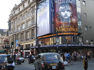 Les Misérables (musical) - Les Misérables at Queen's Theatre in London