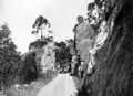 Queensland State Archives 1260 Rock formation on the Gillies Highway Cairns to Atherton Tableland c 1935.png