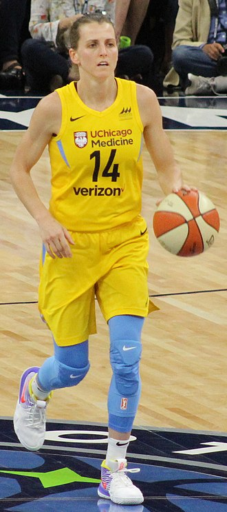Allie Quigley - Quigley in 2018