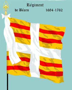 Régiment de Béarn - Régiment de Béarn (1684-1762)