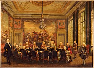 André-Hercule de Fleury - The duc d'Orléans' Council with Cardinal Fleury