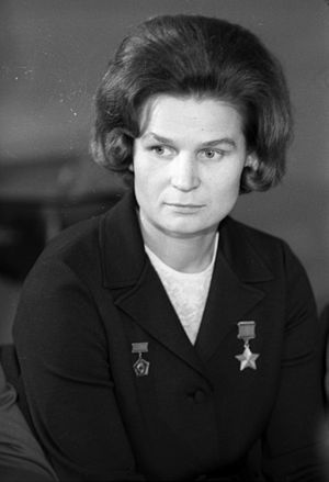 Women in space - Valentina Tereshkova, the first woman in space, 1969