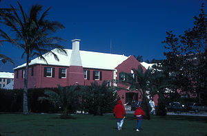 Royal Bermuda Yacht Club - The Yacht Club's building was built in the 1930s