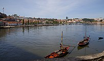 Rabelos en el río Duero, Oporto, Portugal, 2012-05-09, DD 02.JPG