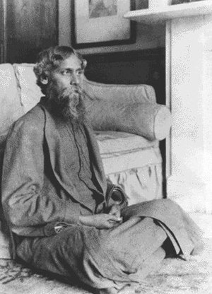 Song Offering - Rabindranath Tagore in 1912, when Gitanjali was being translated to English