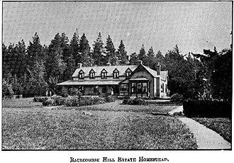 Alfred Richard Creyke - Racecourse Hill Estate homestead (date unknown, but pre-1903)