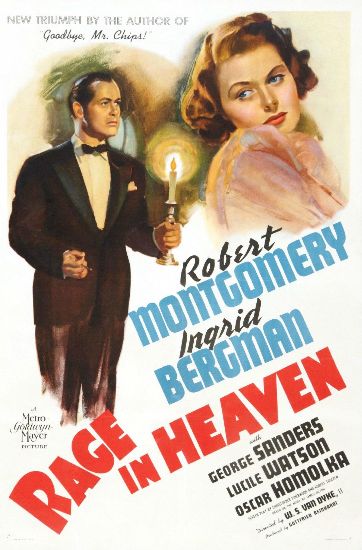 Rage in Heaven - Wikipedia