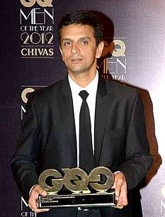 Rahul Dravid Indian cricketer