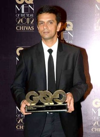 Rahul Dravid - Rahul Dravid at GQ Men of the Year 2012 Awards