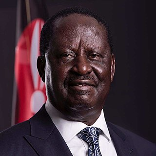 Opposition leader Kenya
