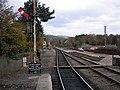 Railway lines leaving Boat of Garten Station - geograph.org.uk - 605193.jpg