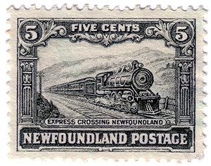 Newfoundland Railway - Newfoundland Railway stamp