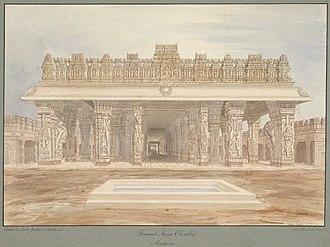 Choultry - Image: Raja Tirumala Nayak Choultry at Madurai Hindu temple, a pilgrim traveler rest house