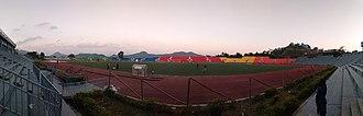 Aizawl F.C. - Rajiv Gandhi Stadium on a matchday