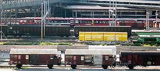 Goods station - Goods station in Lucerne, Switzerland