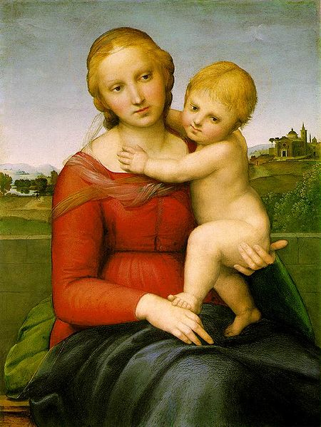 File:Raphael - The small Cowper Madonna.jpg
