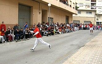 Raspall - Raspall match at Callosa d'En Sarrià