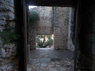Kassiopi Castle - Rear view of the main gate complex
