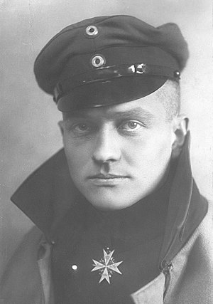 English: Photograph of Manfred von Richthofen,...