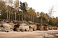 Red cliff on the Baltic seaside - panoramio.jpg