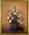 Redon - Grand bouquet au vase bleu, Après 1912, PPD1219.jpg