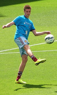 Reece Burke West Ham August 2014.jpg