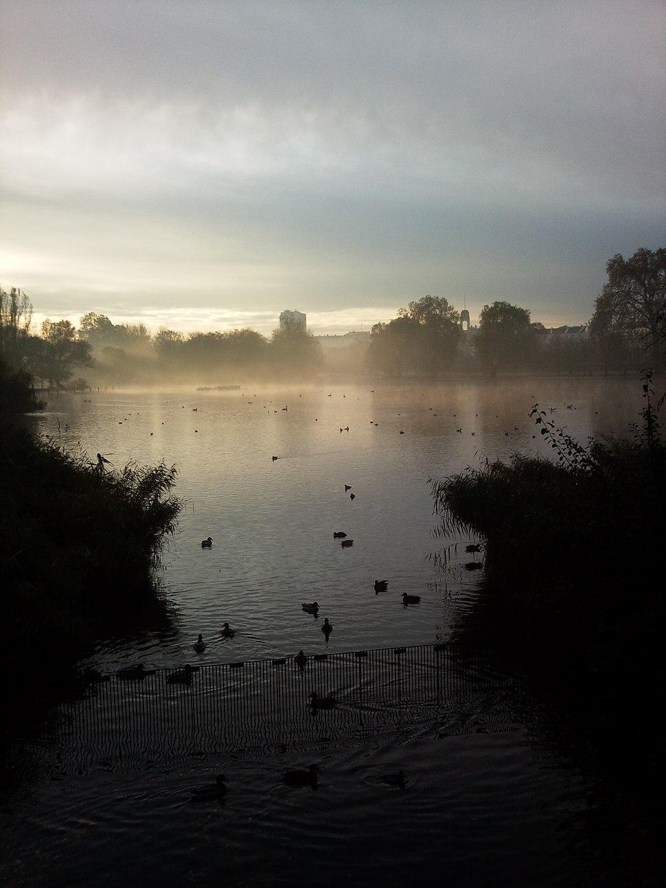 Regent%27s Park Lake - London - UK