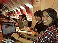 Registering for Wikimania 2010.jpg
