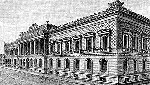 Friedrich Hitzig - building of the Reichsbank in Berlin