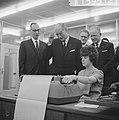 Rekeninstallatie in gebruik op Technische Hogeschool te Delft door Zijne Excelle, Bestanddeelnr 915-9512.jpg