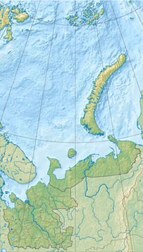(Voir situation sur carte: Oblast d'Arkhangelsk)