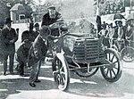 René de Knyff, vainqueur du Circuit du Sud-Ouest en février 1900 sur Panhard.jpg