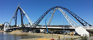 Repairs and maintenance at height on matagarup bridge.jpg