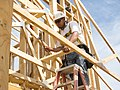 Residential construction fall arrest system (9256413286).jpg