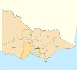 Rest of Victoria divisions overview 2010