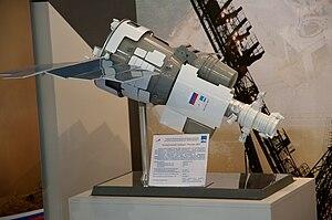 Resurs-DK No.1 - Image: Resurs DK 1 Model at MAKS 2009