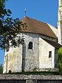 Rhuis (60), église Saint-Gervais-Saint-Protais, chœur, vue depuis le nord.JPG