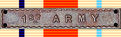 1st Army Clasp