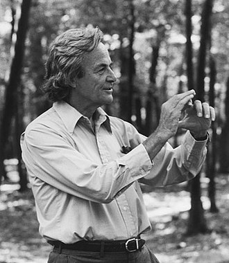 Richard Feynman - Richard Feynman at the Robert Treat Paine Estate in Waltham, Massachusetts, in 1984