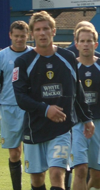 Richard Cresswell - Cresswell playing for Leeds United in 2005