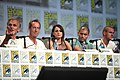 Richard Sammel, Jonathan Hyde, Natalie Brown, Miguel Gomez & Jack Kesy, The Strain, SDCC 2014.jpg