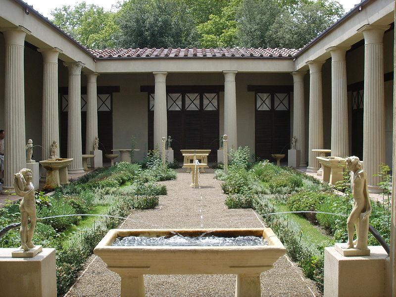 File:Ricostruzione del giardino della casa dei vetii di pompei (mostra al giardino di boboli, 2007) 01.JPG
