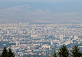 Ride with Simeonovo Cablecar to Aleko, view to Sofia 2012 PD 030.jpg