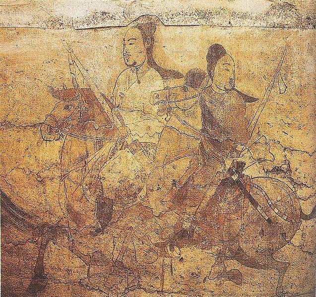 File:Riders on Horseback, Northern Qi Dynasty.jpg