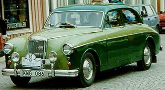 Riley Motor - Two-Point-Six saloon 1959