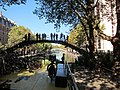 Rising into sunlight at Bassin de la Villette, Canal Saint Martin - panoramio.jpg