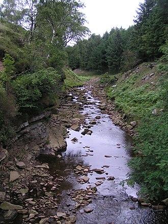 River Ashop - The River Ashop in Snake Woodlands