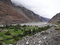 River Shyok, Turtuk Village, Ladakh.JPG