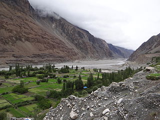 Village in Ladakh, India